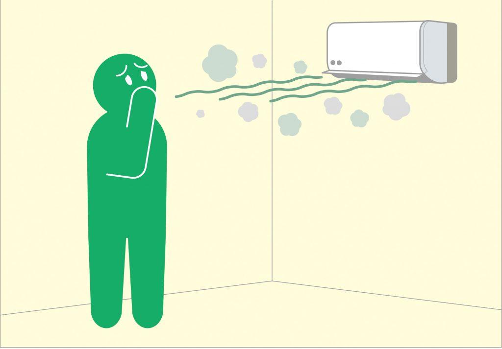 【うわ…クサ!】「エアコン」あの嫌なニオイを1時間で簡単に解消するワザ