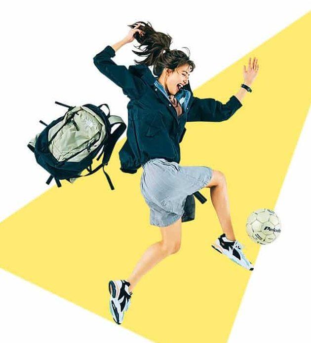 アクティブなスポーツ日和には、