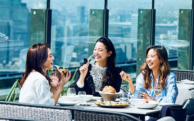 東京の「密じゃない、テラス席がある」ホテル&レストラン3選
