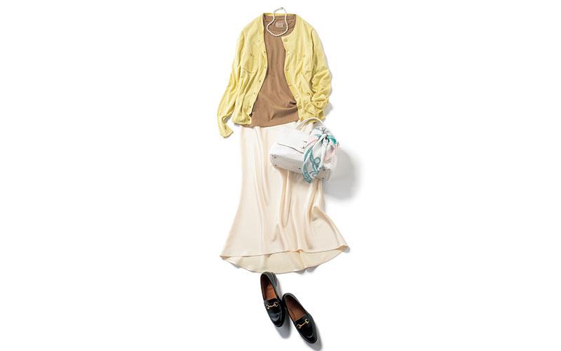 アラサー女子の「無印良品Tシャツ¥990」コーデ【今日の着回しDiary】
