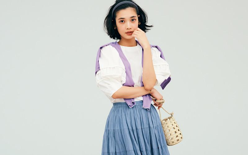 【今日の服装】手抜きに見えない「スカートコーデ」って?【アラサー女子】