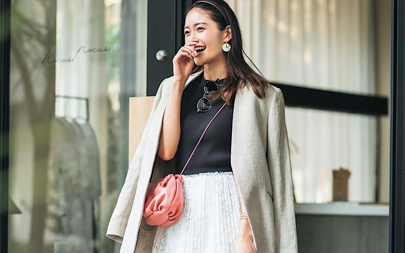 【今日の服装】「レーススカート」を大人っぽく着るなら?【アラサー女子】