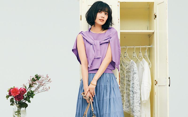 【今日の服装】街で浮かない「キレイ色」コーデって?【アラサー女子】