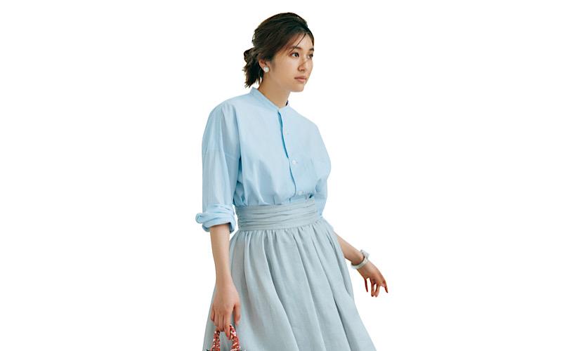 【今日の服装】大人女子が「ブルーワントーンコーデ」をするなら?【アラサー女子】