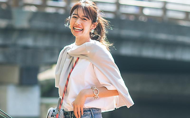 【今日の服装】ダサ見えしない「白T×デニム」コーデって?【アラサー女子】