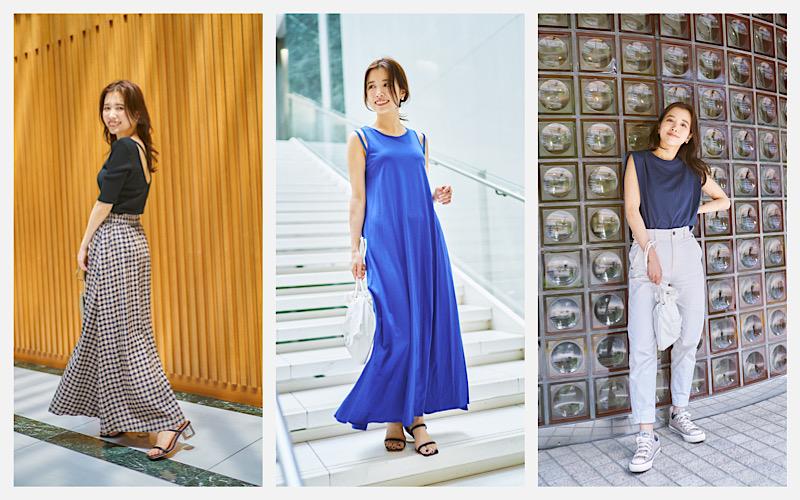 【CLASSY.Closet】アラサー読者モデルの私服SNAP夏コーデ3選【入江史織さん編】