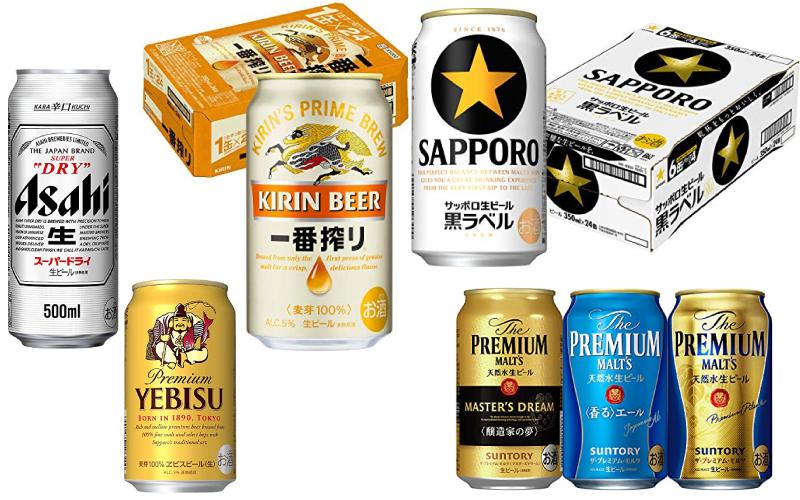 【開催中】「Amazonタイムセール祭り」対象の「ビール」5選