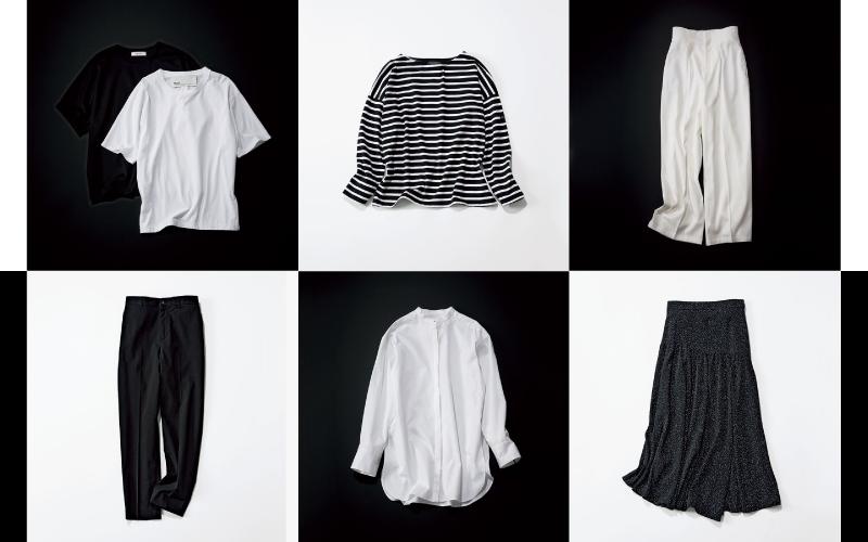 無駄な服を買わなくなる「便利なシンプル・モノトーン服」6選