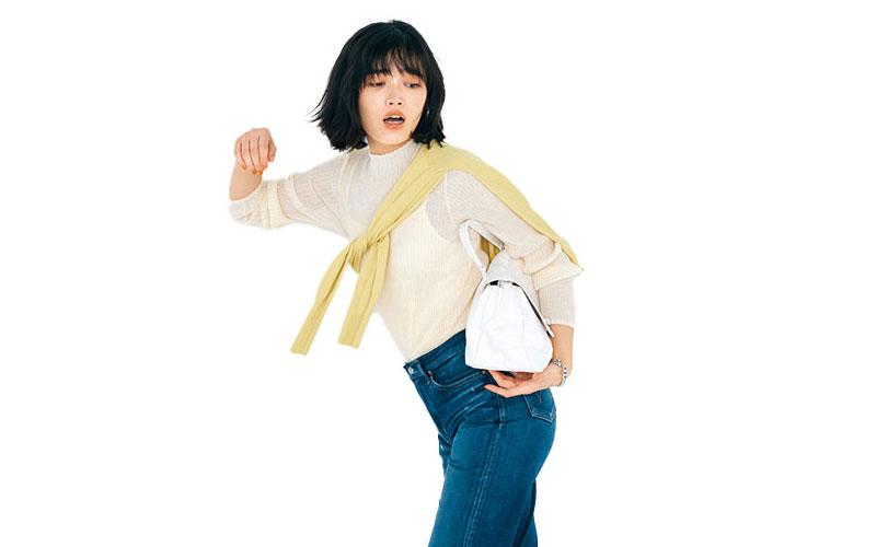 アラサー女子の「今ドキ透けトップス」コーデ【今日の着回しDiary】
