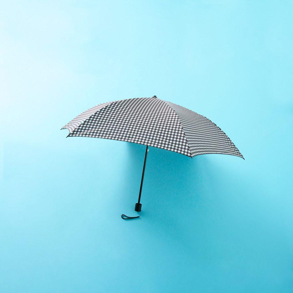 雨なのにいつもの格好で出かけて