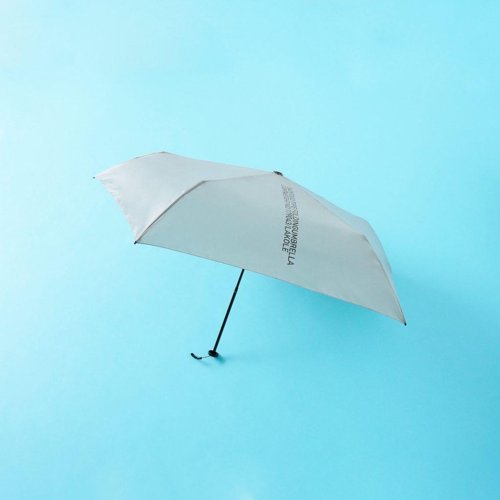 折り畳み傘の面倒な手間が省けて