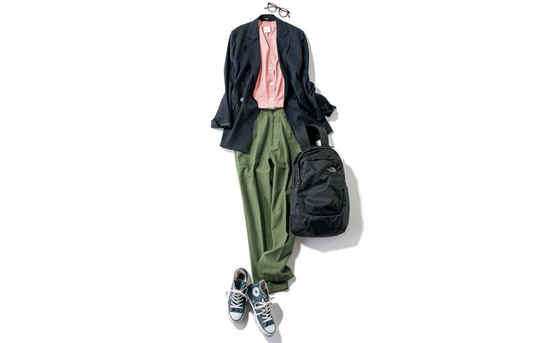 アラサー女子の「6月のジャケットコーデ」【今日の着回しDiary】