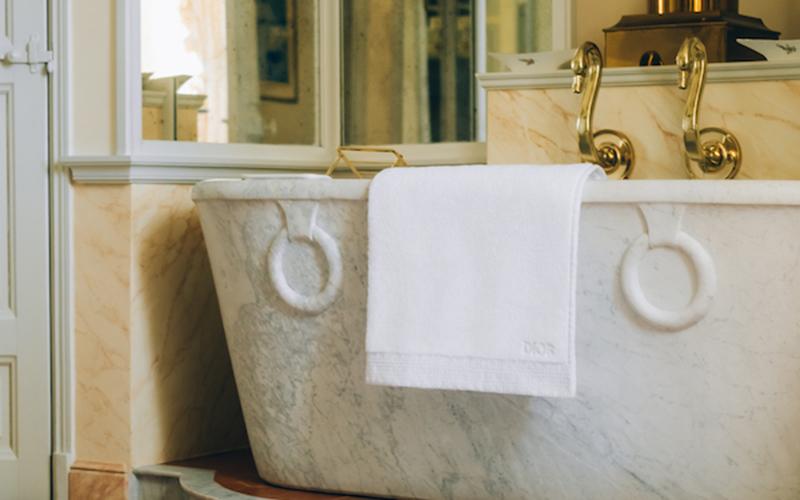 【ディオールのバスリネン】でお風呂タイムを贅沢に♡ バスタオル、バスマットに新作デザイン登場