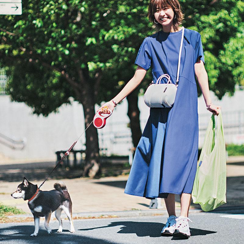 犬の散歩、近所へ買い出し、友達