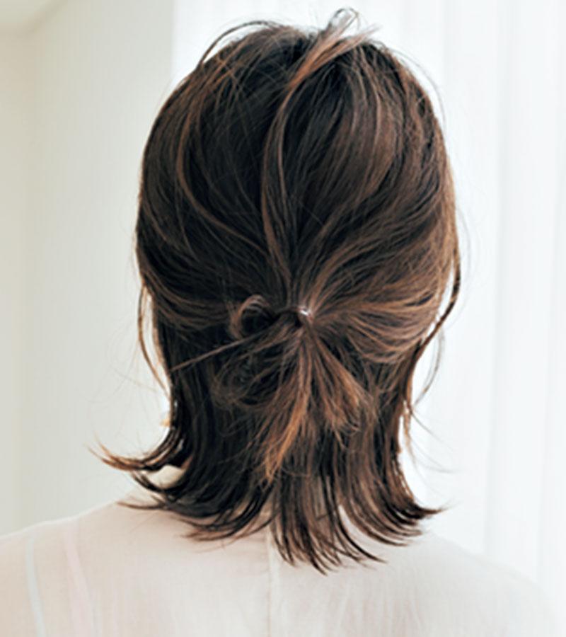 梅雨でもキレイな髪型をキープす