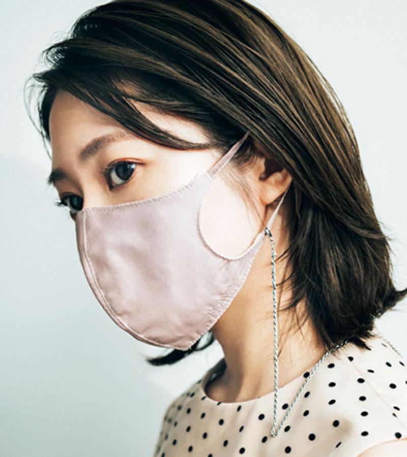 マスク生活により、顔まわりがい