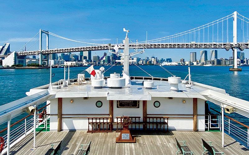 「東京湾をクルージングしながら優雅にランチを満喫したい!」【東京都編】|いつか行きたいアラサー女子旅