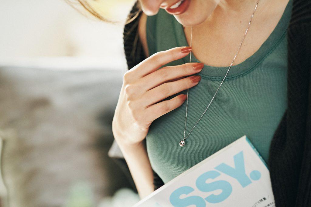 【6月27日(日)〆切!】MARIHAのネックレスが当たる!定期購読キャンペーン