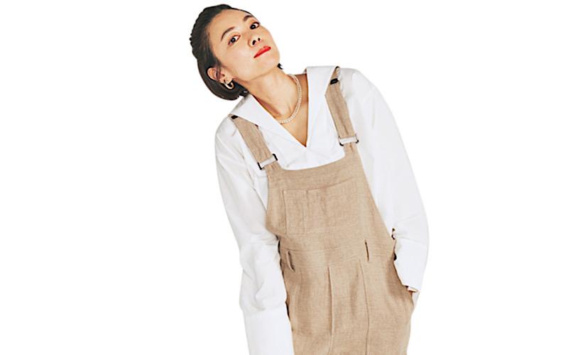 【今日の服装】雨の日に便利な「オールインワンコーデ」って?【アラサー女子】