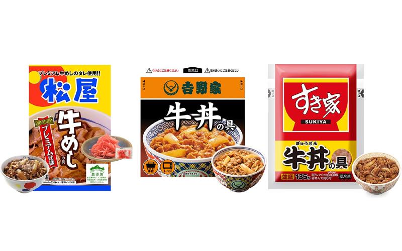 【吉野家、松屋、すき家】残り3時間「Amazonプライムデー」お買い得「牛丼」5選