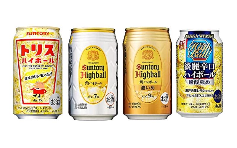 【角、トリス】セール開催中!「Amazonプライムデー」おすすめの「缶ハイボール」5選