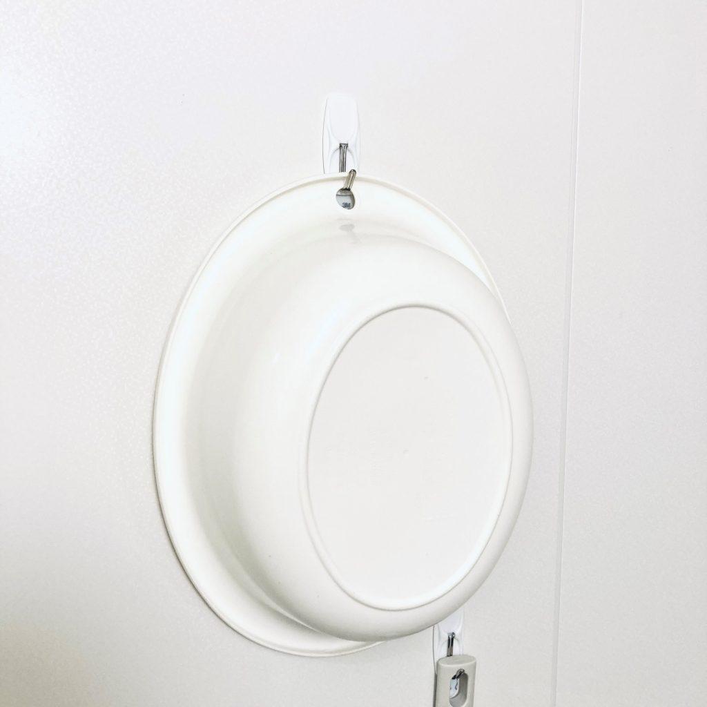 浴室といえば、掃除アイテムの置