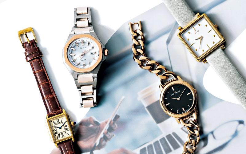 大人女子にこそ似合う「おすすめのジュエリー」9選【腕時計&バングル】