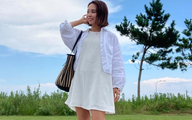 【全身ZARAコーデ】セールで購入した「白ワンピ」が可愛すぎ♡