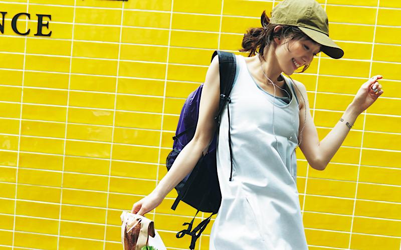 【今日の服装】部屋着に見えない「カットソーワンピ」コーデって?【アラサー女子】