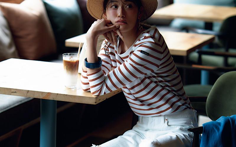 【今日の服装】ダサ見えしない「ボーダーT」コーデって?【アラサー女子】