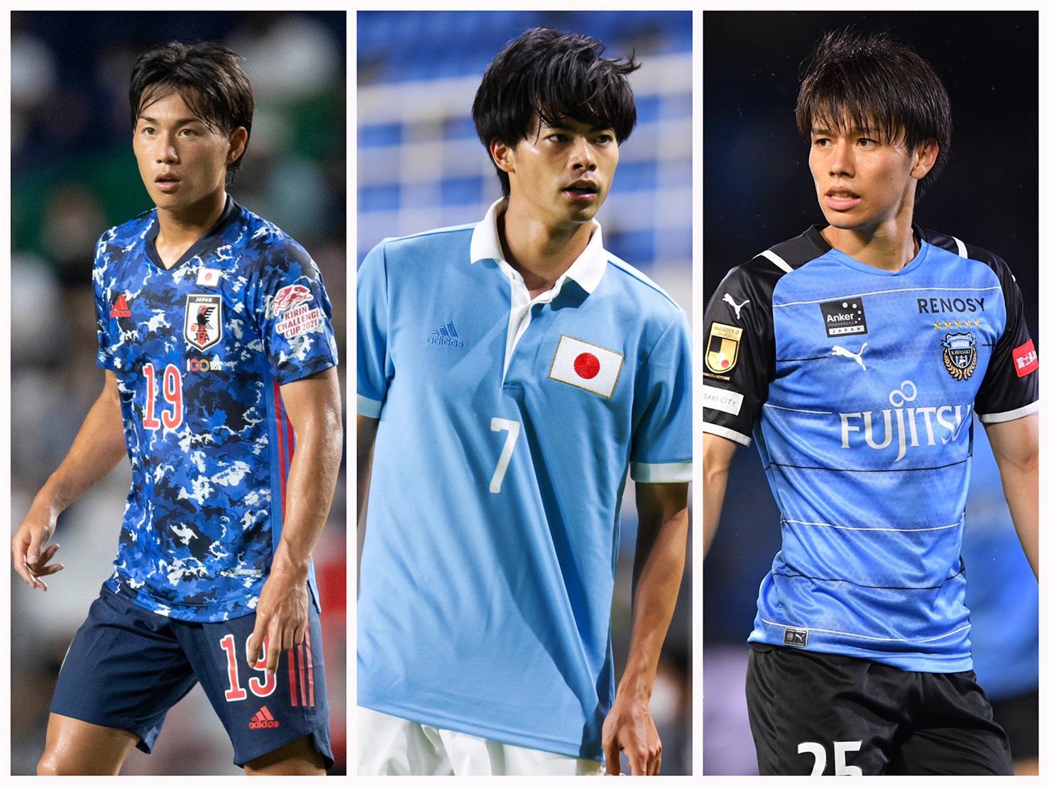 【サッカー日本VSスペイン】五輪注目の「サッカー日本代表イケメン」選手3名
