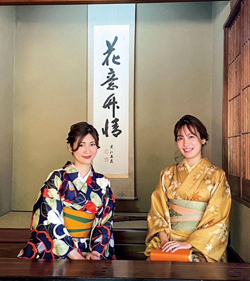 日本文化が好きで〝道〟が付く特