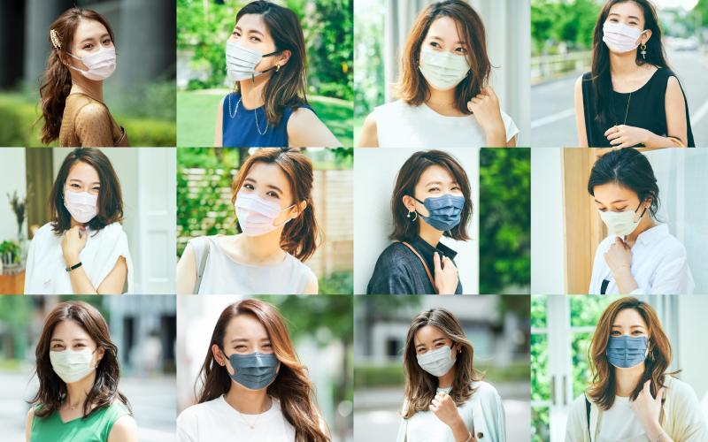 夏のアラサー「マスク美女」13名の素顔【東京マスク美女スナップ vol.10】