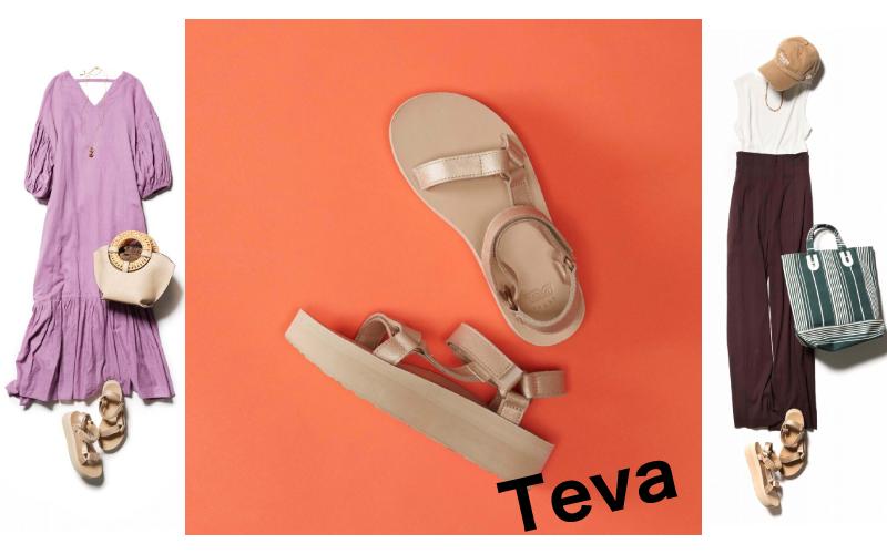 ラフすぎない!スポサン「Teva」のコーデ2選【アラサー世代におすすめ】
