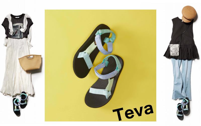 地味見え回避!スポサン「Teva」で夏コーデ2選【アラサー世代に】