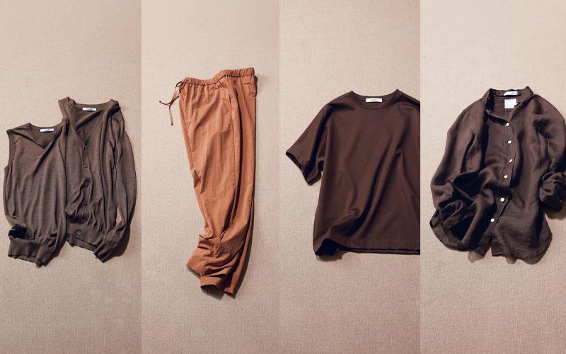実は夏に人気になっている!?「ブラウンの服」4選【大人女子】