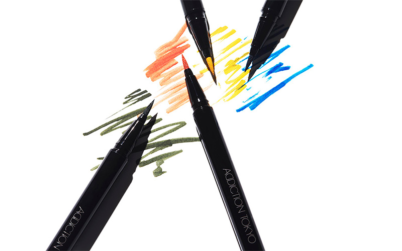 【アディクション 】この夏アラサー女子におすすめ「カラーライナー」4色を塗り比べ!