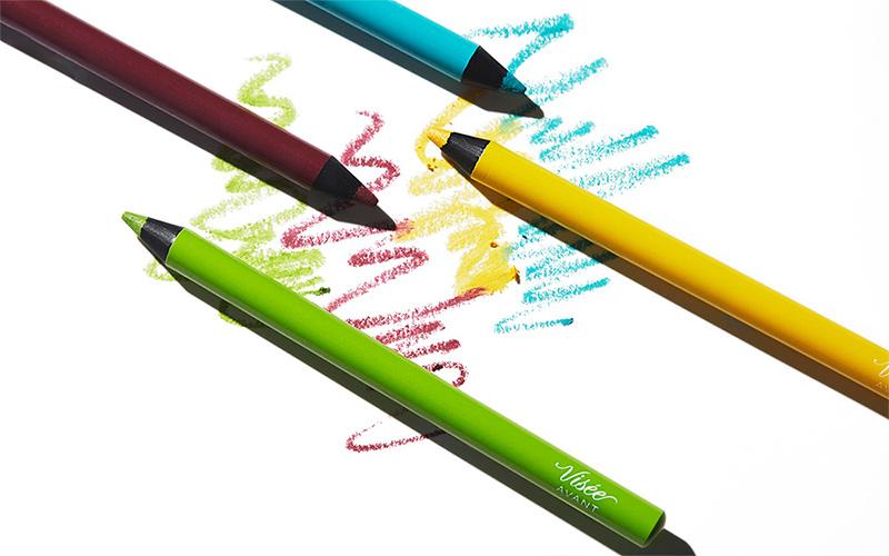 【ヴィセ】この夏アラサー女子におすすめ「カラーライナー」4色を塗り比べ!