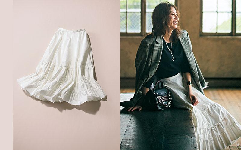 秋服ノープランの大人女子が「まず買うべき服」【フレアスカート】