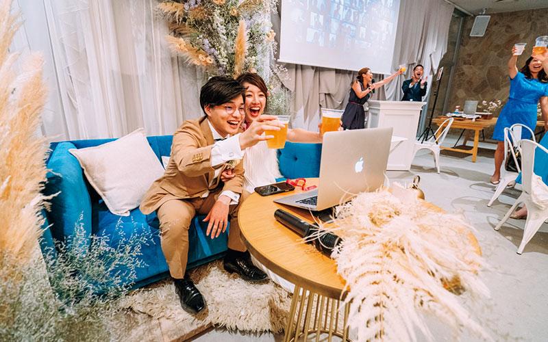 コロナ禍のリアルな「結婚式事情」【新しい!リモートウェディング編】