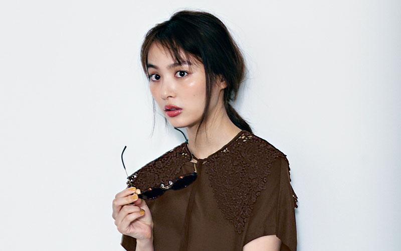 内田理央さんに学ぶ!「大人のTシャツワンピ、上手な着こなし方」