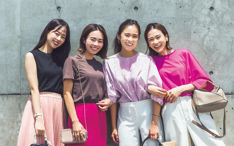 関西読者の夏に一番人気の色は…?【アラサー女子のリアルコーデ】