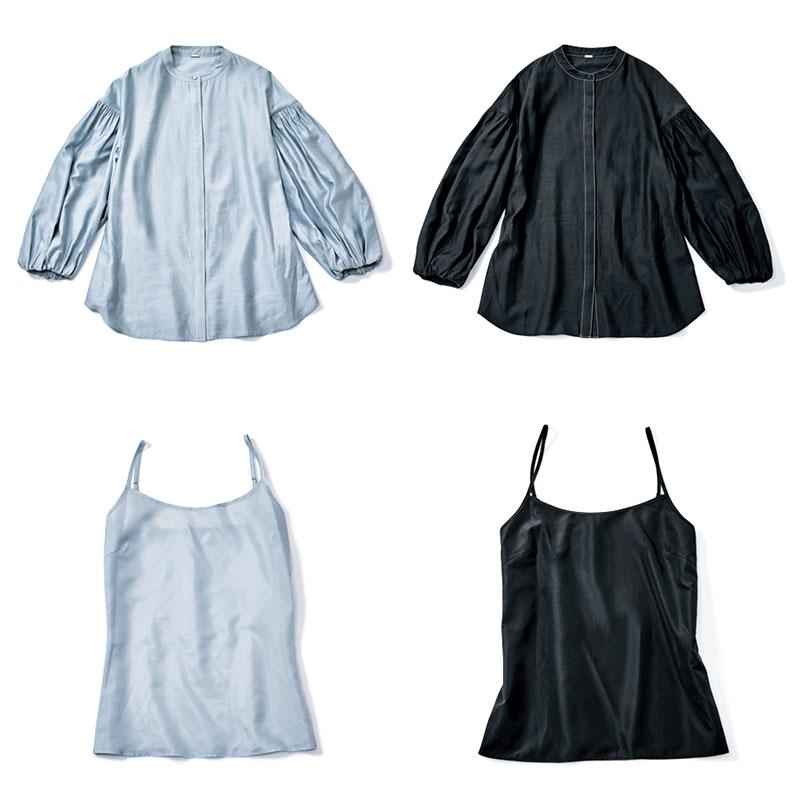 暑さ対策優先でシンプルな服がメ