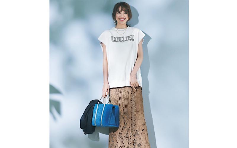 【今日の服装】脱コンサバな「レーススカート」コーデって?【アラサー女子】