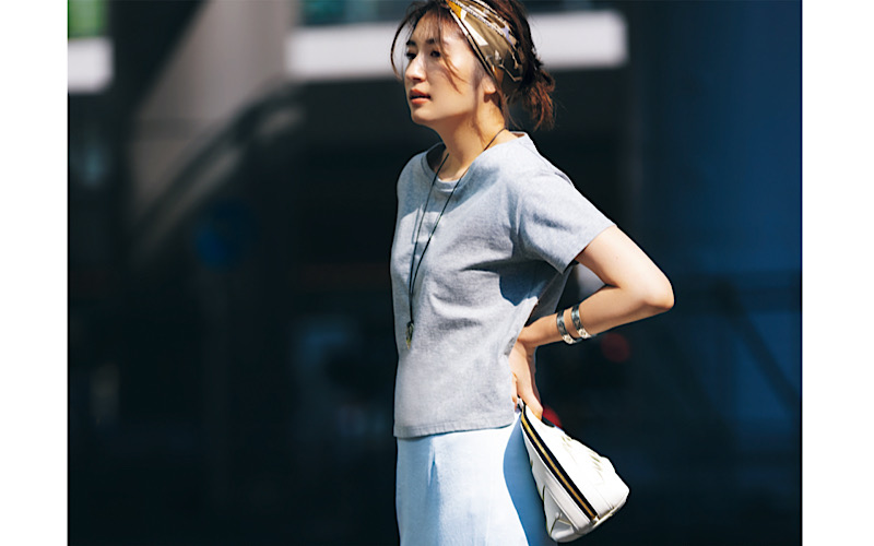 【今日の服装】手抜きに見えない「Tシャツコーデ」って?【アラサー女子】