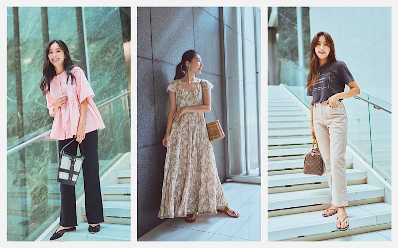 アラサー女子の8月のシンプルベーシックSNAP9選【CLASSY.Closet】