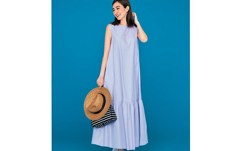 【今日の服装】「ティアードワンピ」を大人っぽく着るなら?【アラサー女子】