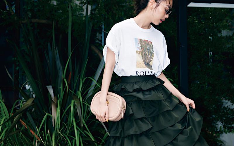 【今日の服装】周りと差がつく「フォトT」コーデって?【アラサー女子】