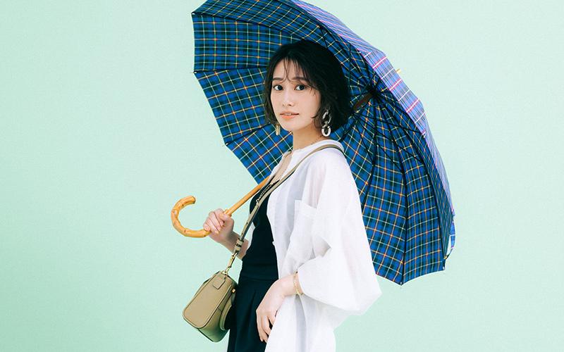おばさん見えしない!コーデに映える「オシャレ日傘」4選【カジュアル柄編】