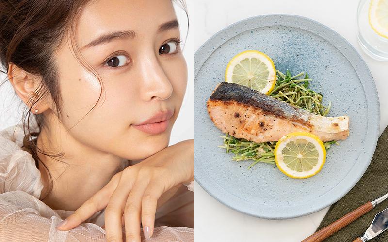 【加治ひとみ】1週間「腸活つくりおき」レシピ【鮭味噌ヨーグルトのレモン蒸し】